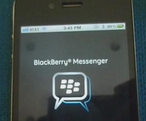 BlackBerry Messenger Android-