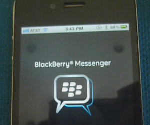 BlackBerry Messenger Android-