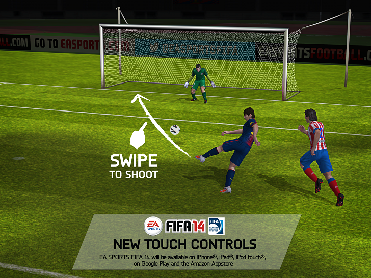 FIFA 14 Android Controles