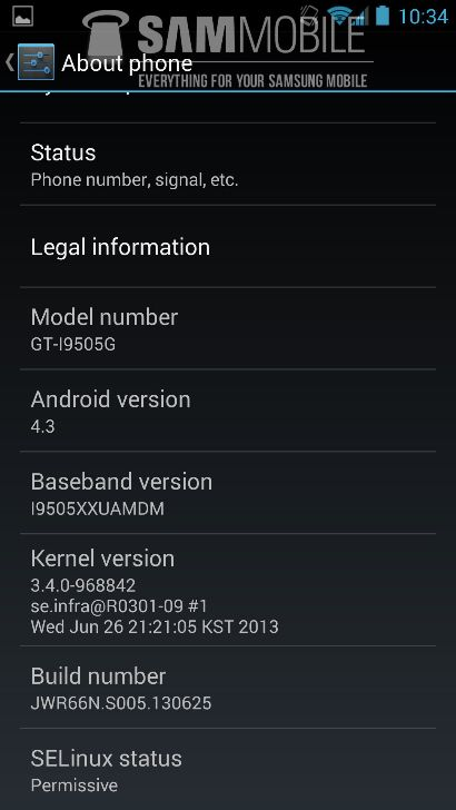 Galaxy S4 Android 4.3-3
