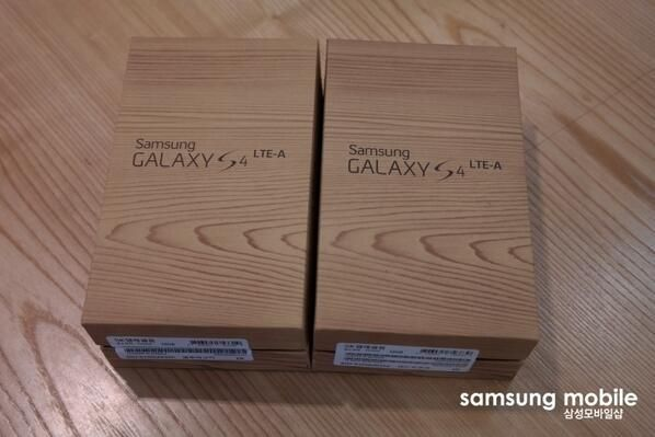 Galaxy S4 LTE-A Box