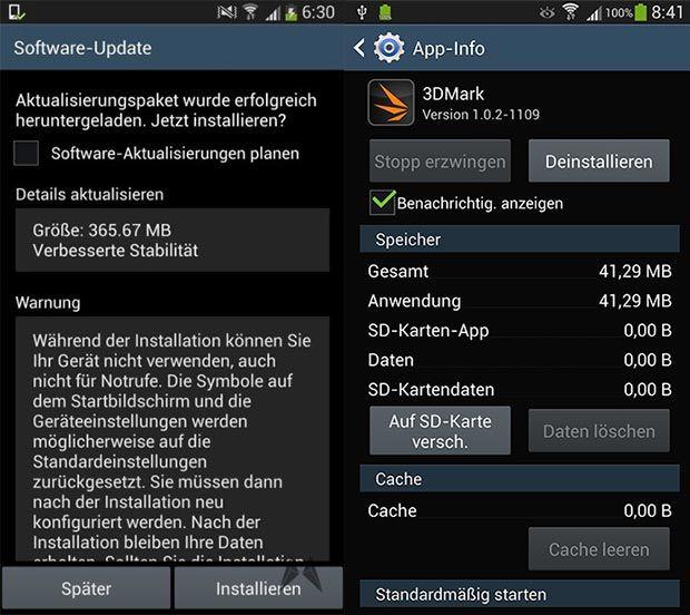 Galaxy S4 actualizacion