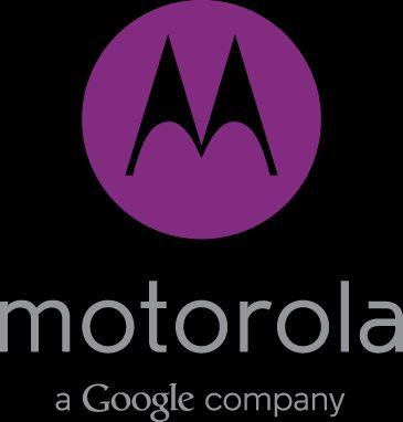 Motorola a Google company morado