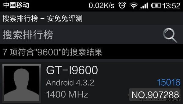 Samsung Galaxy GT-I9600