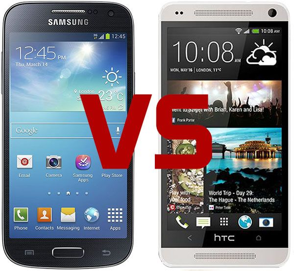Samsung Galaxy S4 Mini vs HTC One Mini