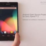 Se viene el Sony Xperia Z Google Edition