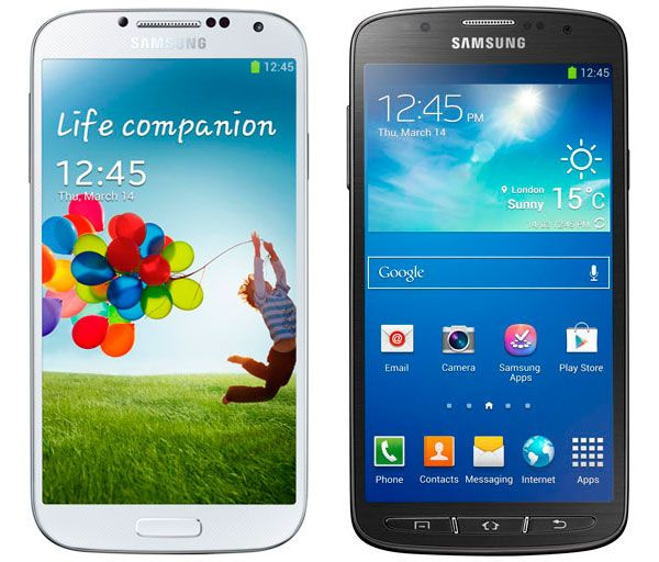 galaxy s4 vs galaxy s4 active