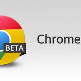 Chrome Beta 29-