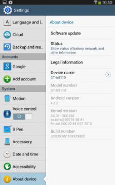 Galaxy Note 8 Android 4.2 (2)