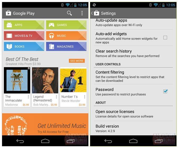 Google Play Store 4.2.9