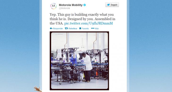 Motorola Twit Moto X