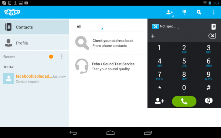 Skype 4.0 para Android