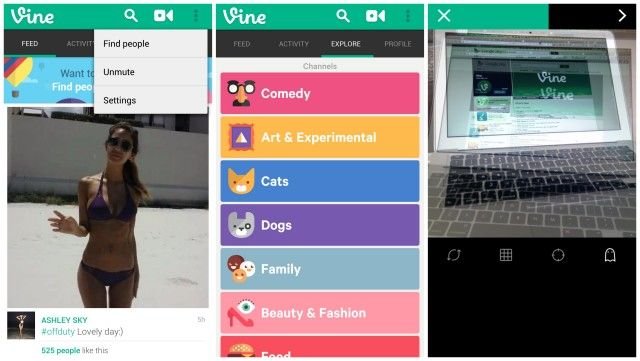 Vine para Android 1.3.1