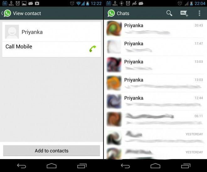 WhatsApp Priyanka