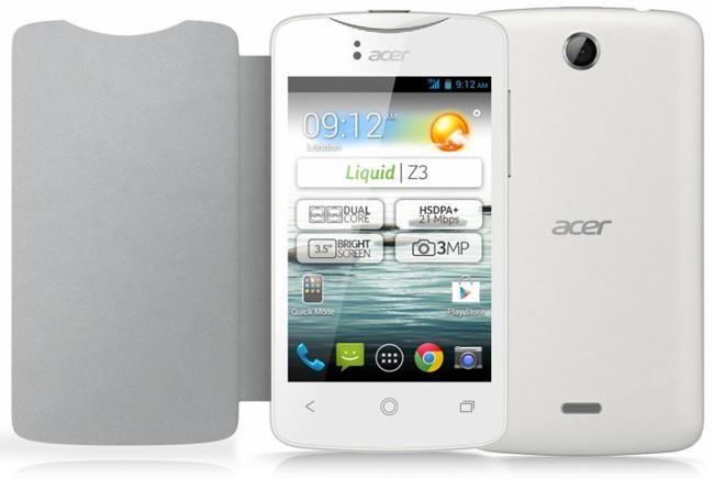 Acer Liquid Z3 Funda