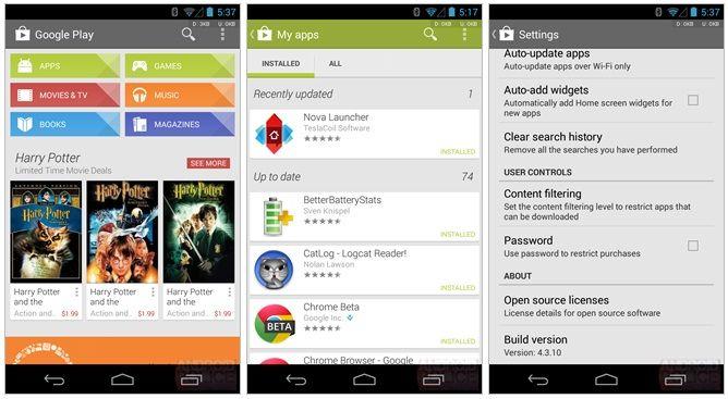 Google Play Store 4.3.10 APK