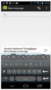 Dynamic Keyboard