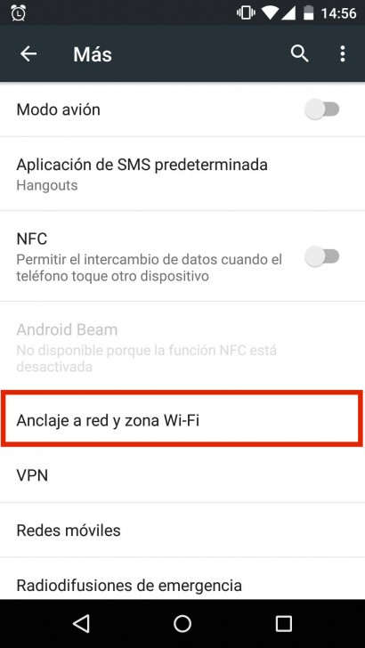 Comparte WiFi en Android-2