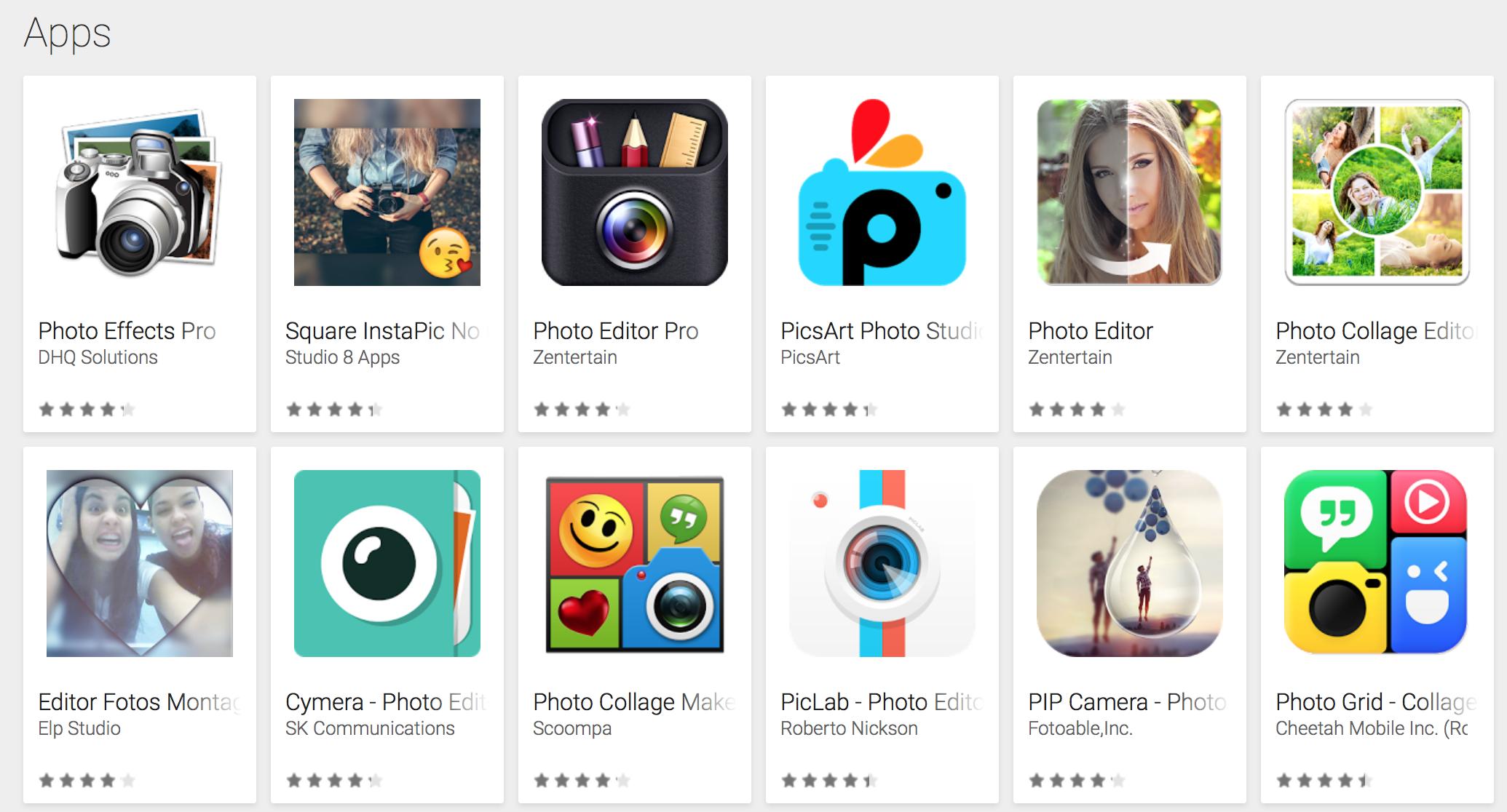 aplicaciones para selfies m s populares del 2016
