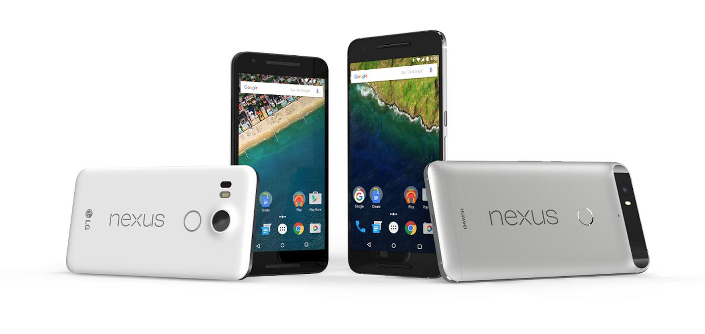Los dos productos más recientes de Google fueron creados en sociedad con LG & Huawei