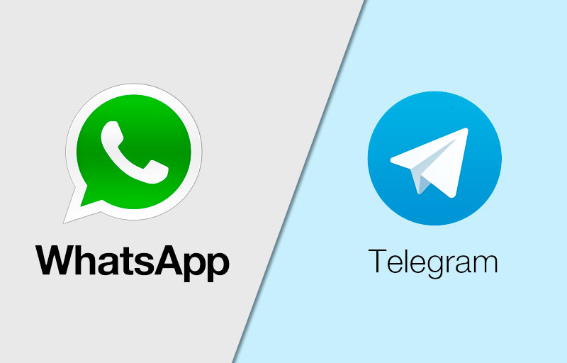 Whatsapp vs Telegram, similitudes y diferencias