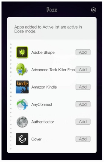 Doze para Android