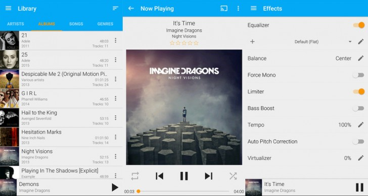 GoneMAD Player Reproductores de música para Android