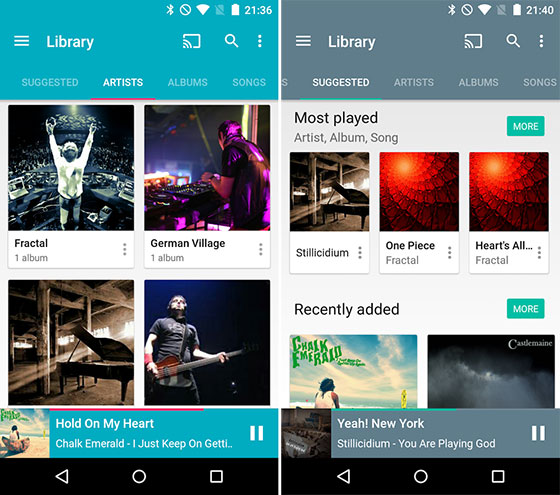 Shuttle Music Player Reproductores de música para Android