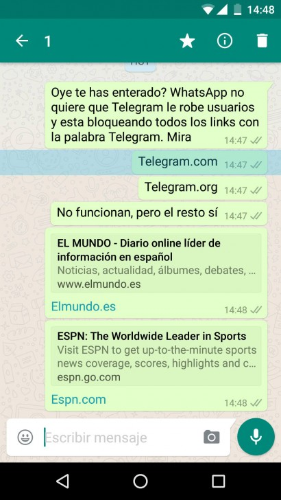 WhatsApp vs Telegram-