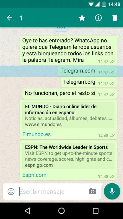 WhatsApp vs Telegram-
