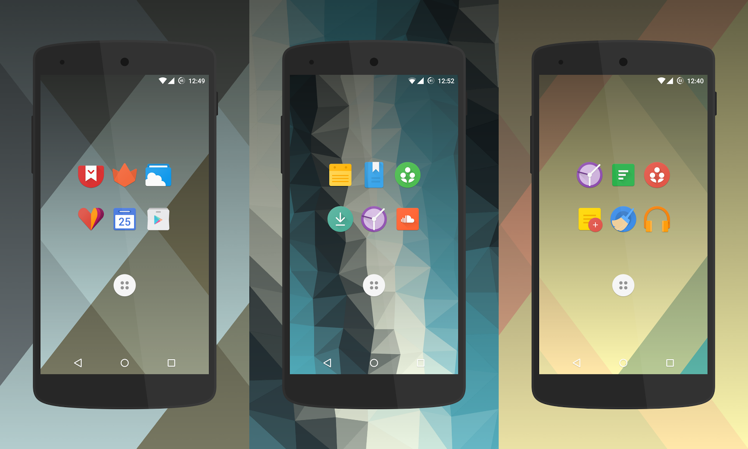 polycon-icon-pack
