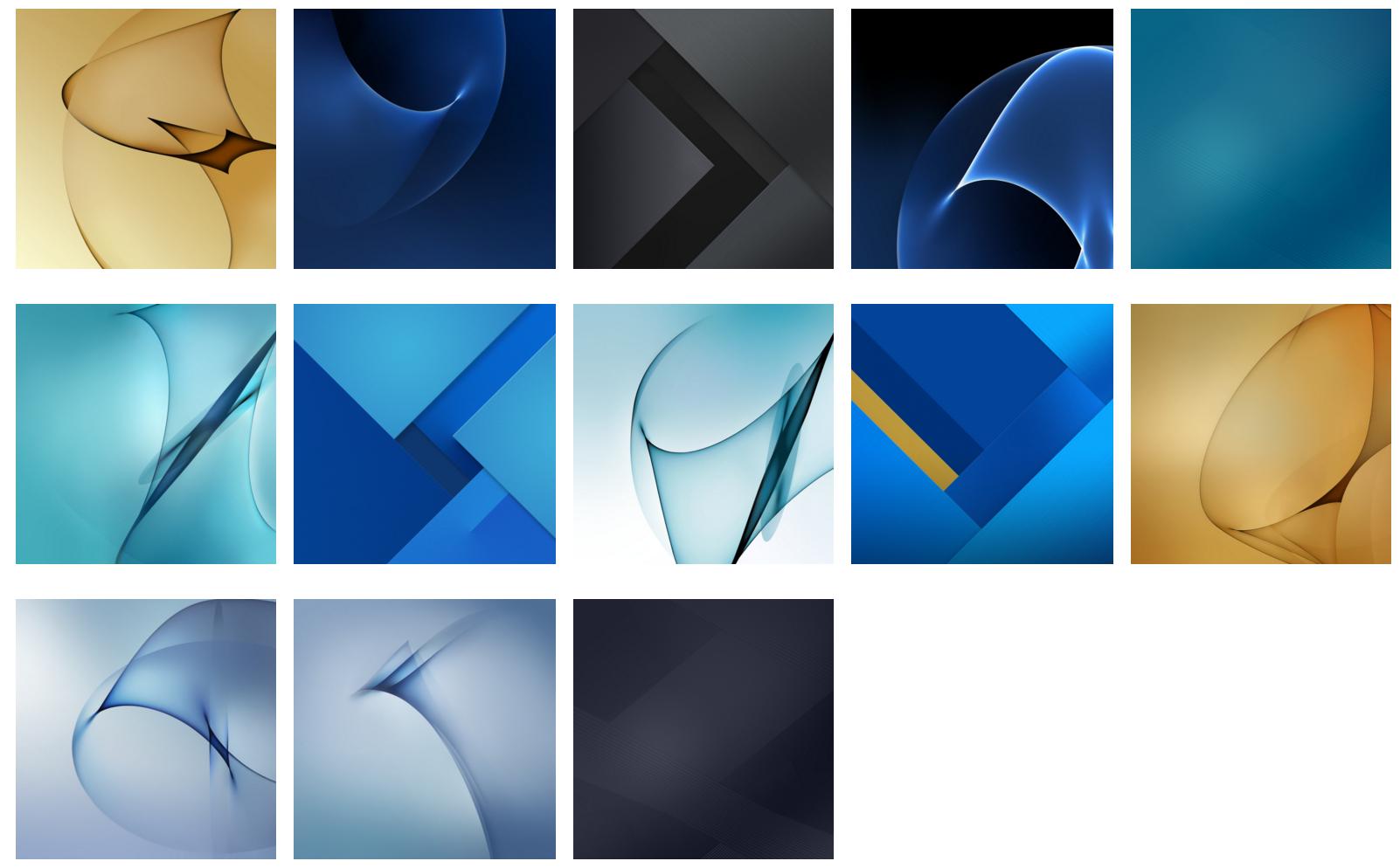Samsung S7 Wallpapers: Descarga Los Wallpapers Del Samsung Galaxy S7
