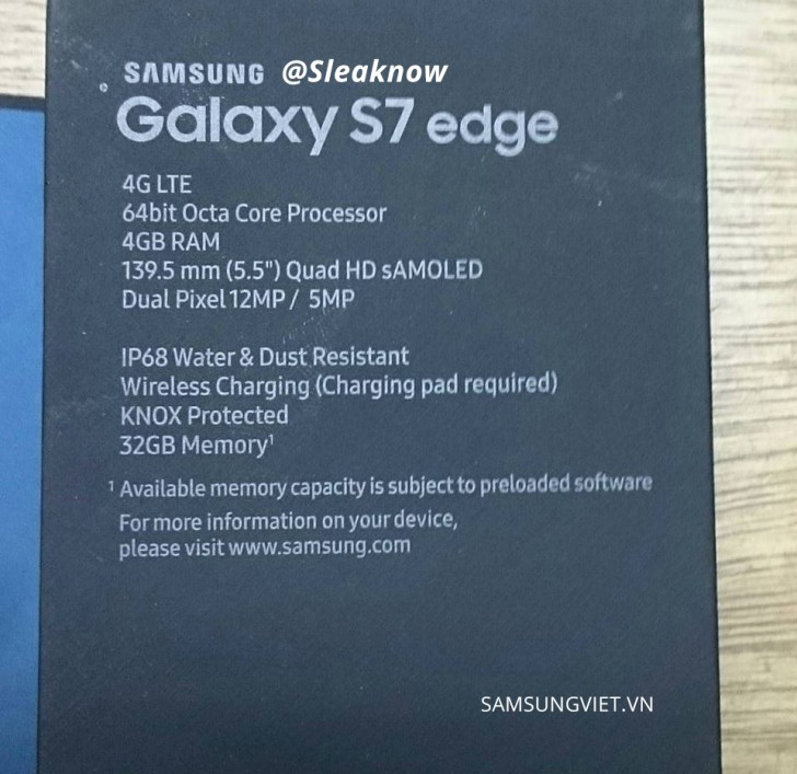 Galaxy S7 edge packaging-2