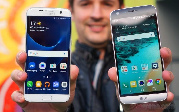 Galaxy S7 vs LG G5-2