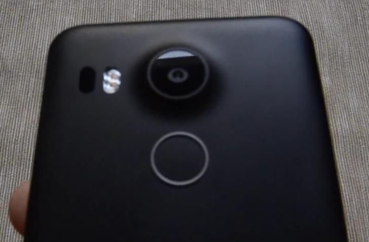 Nexus 5X parte trasera