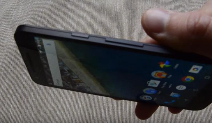 Nexus 5X volumen