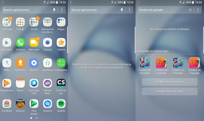 Android 7 0 nougat beta en el samsung gaaxy s7 edge en v deo for Aplicaciones de fondos de pantalla