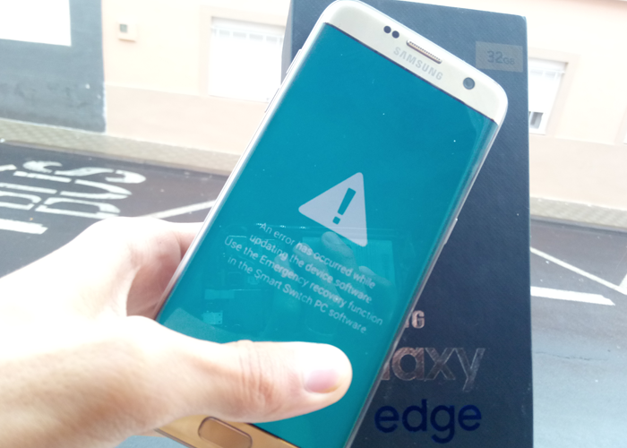 samsung galaxy s7 edge brickeado