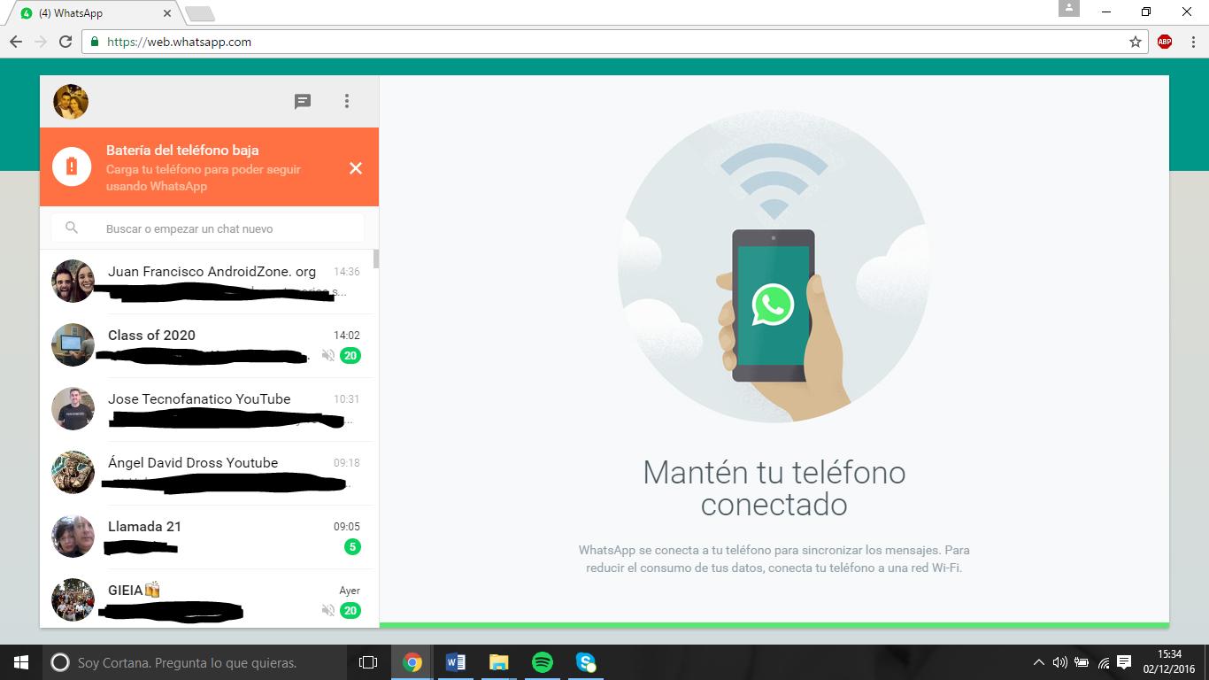 Cliente de Ordenador WhatsApp